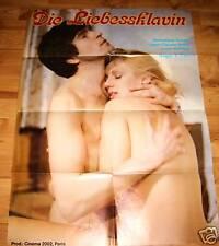 Veronique Duval DIE LIEBESSKLAVIN Erotik Plakat