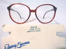 dbbf5ec6875 Vintage Regency Eyewear Margie Ruby 56 17 Eyeglass Frame New Old Stock