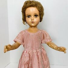 Vintage R & B ARRANBEE Nancy Lee or Debu'Teen Composition Doll Sleepy Eyes 21""