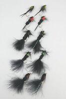 X10 Montana Nymphs,  Fly Sze 10, Trout Fishing Flies