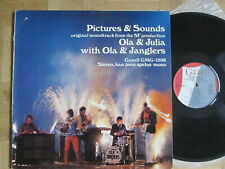Ola & Janglers – Pictures & Sounds - Swedish Gazell LP  – 1967  -