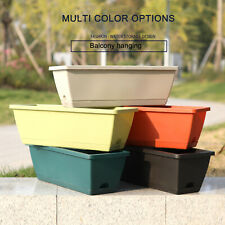 Gardening Supplies Flower Pot Pots Plastic Pp Planters High Quality Window Boxes