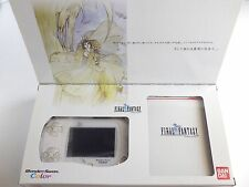 NEW Wonder Swan Color White Console System FF Final Fantasy Limited Box