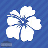 Hibiscus Flower Vinyl Decal Sticker Hawaii Hawaiian Islands