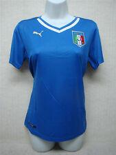 PUMA - 744300-01 - ITALY - Women's Replica Soccer Jersey - Royal Blue - Size XL