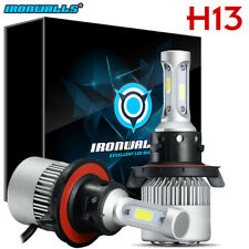 H13 9008 CREE LED Headlight Conversion Kit 1300W 195000LM HI-LO Beam Bulbs 6000K