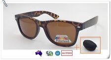 Polarised Men Women Fashion Sunglasses Demi + Free Hard Case