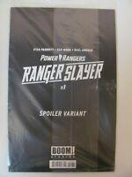 Power Rangers Ranger Slayer #1 BOOM 2020 One Shot SEALED Spoiler Variant 9.6 NM+
