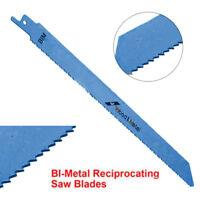 "225mm 9"" Inch BI-Metal Reciprocating Saw Blade Flexible for Metal  Wood Cutting"