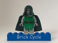 Lego Dr. Doom Minifigure From Spiderman Set 76005 (sh052) Marvel Super Heroes