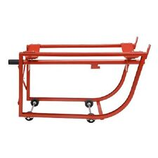 """NEW! Standard Drum Cradle with 2-1/2"""" dia. Polyolefin Wheels for 55 Gallon!!"""