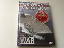 Weapons of War US Navy Carriers DVD New and Sealed