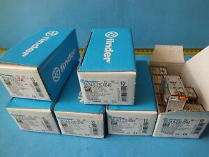 10 pcs  FINDER55.34.8.230.0040(7A 250V)  230VAC  Relay