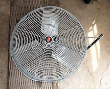 """Large Dayton 24"""" dia. Industrial Agricultural Wall Mount Fan, 3 phase, Ag. Barn"""