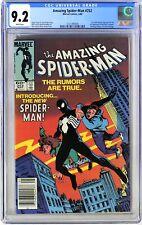 S426. AMAZING SPIDER-MAN #252 Marvel CGC 9.2 NM- (1984) 1st App of BLACK COSTUME