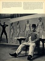 Ferdinand Hodler XXL Bericht 1953 Selbstportraits 42 Seiten 49 Abbildungen