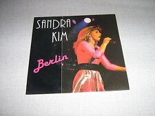 SANDRA KIM 45 TOURS BELGIQUE BERLIN
