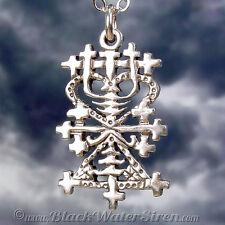 VOODOO - MAMAN BRIGITTE - Veve Charm Pendant STERLING Silver 925 Lwa Vodou