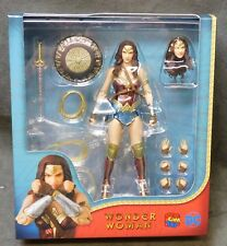 """Wonder Woman MAFEX 6"""" Action Figure - DC - CREASED - b"""