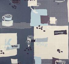 Gemusterte Tapeten mit geometrischem Muster für die Küche