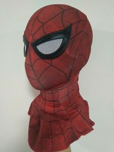 Civil War Spider-Man: Homecoming faceshell With Lenses Fabric Mask Cosplay Props