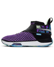 Men Nike Air Zoom UNVRS Flyease Basketball Shoes Vivid Purple/White CQ6422-500