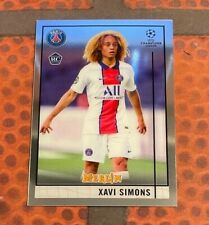 2020-21 Merlin UEFA Champions League #87 Xavi Simons - first RC - 1. Rookie PSG