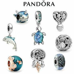 Brand New Genuine Silver Pandora Ocean Charm ALE
