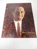 Henri Mancini 1965 Concert Program Book