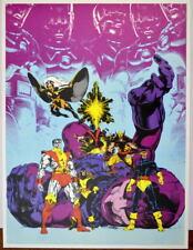 X-MEN COMPANION Cover Print / Poster Marvel Sentinels