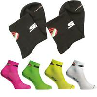 Men Women Sports Socks Cycling Bicycle Breathable Sweat Absorbing Deodorant Sock