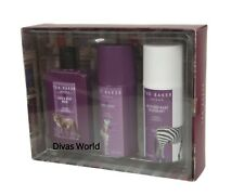 Ted Baker Hair & Body Wash/ Spray & Deodorant Scented Trio Gift Set Brand New