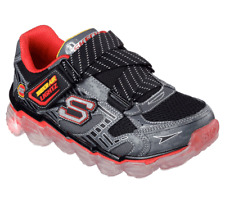 New Toddler Skechers Skech Air Lites Shoes Style 90520N Charcoal/Red 103D pr