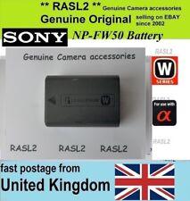 Genuine Original SONY Battery NP-FW50 Nex-5 Nex-6 SLT Alpha a55 A7r A7r Mark II