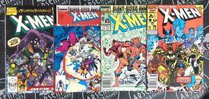 X-Men Annual #10-13 (1986-89) Marvel Comics Drunk Wolverine 1st App X-Babies