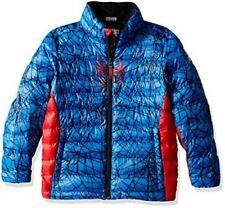 NEW NWT Spyder Active Sports Boy's Marvel Prymo Outerwear Full Zip puffer Large