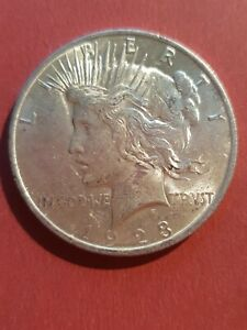 1923 Peace Silver Dollar United States of America USA US