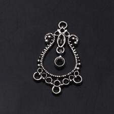 Water Drop Connectors Tibetan Silver Earring Findings Crafts Jewelry Findings