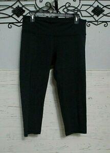 Champion Activewear Crop Pants Size L Gray Women's