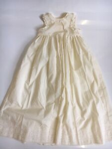 Vintage Christening Gown Baby Cream Lace