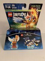 LEGO NEW DIMENSIONS FUN PACK LEGENDS OF CHIMA SET 71232 ERIS EAGLE INTERCEPTOR