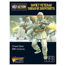 Veterano de brigada soviética en la nieve trajes Perno acción-Warlord Games