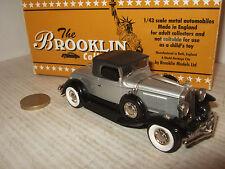 RARE BROOKLIN BRK 88 1931 STUDEBAKER President Convertible Roadster 1:43 échelle.