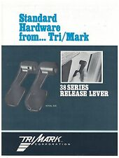 Tri/Mark 38 Series Release Lever Spec Sheet  On/Off Highway Equipment