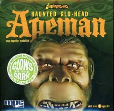 "MPC 6"" Tall Haunted Glo-Head Apeman Glows in the Dark Plastic Figure Kit #725"