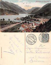 Resiutta panorama con ferrovia ANNO 1915 (R-L 135)