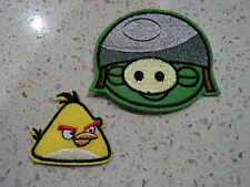 New Cute Angry Birds Bird Plush Embroidered Patch Applique Badge Iron Sew On