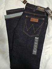 Wrangler Men's Jeans Slim Taper Selvedge Dark Rinse 34x34 NWT