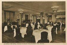 Postcard Canada Quebec Le Grill Chateau de Blois Trois-Rivieres 1915-20s Unused