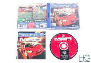MSR / Metropolis Street Racer - Sega Dreamcast Game & Case PAL